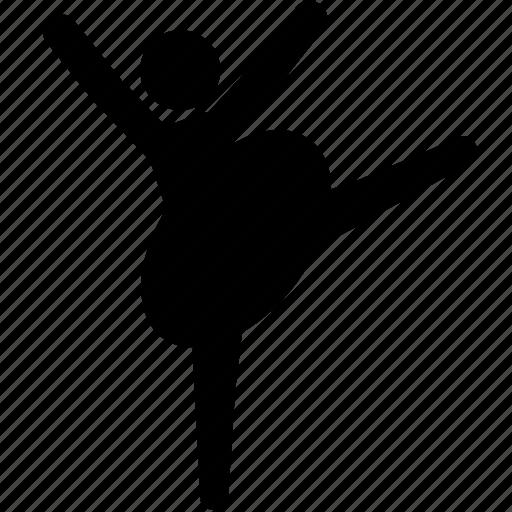 ballerina, ballet, dance, dancer, tutu icon
