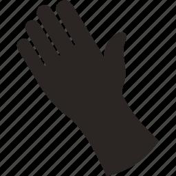body, finger, glove, hand icon