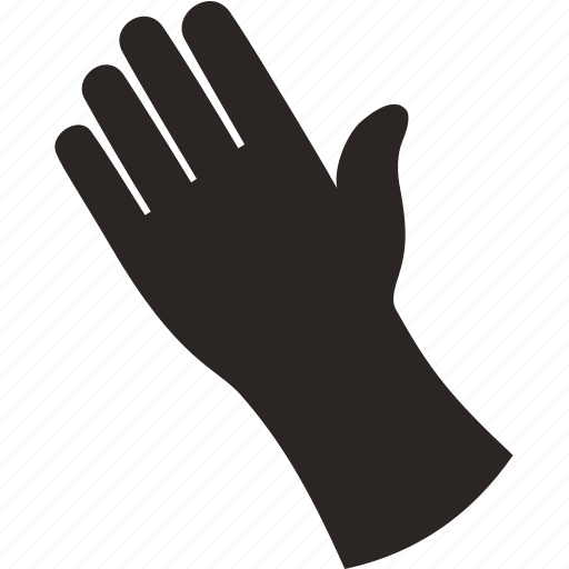 body, finger, glove, hand icon