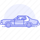 car, civil, crime, danger, investigation, officer, operation, police, road, undercover, vehicle icon