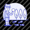 clue, crime, danger, detective, detectives, footprint, investigator, magnifier, search, track, woman