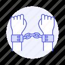 arrest, arrested, convict, crime, criminal, danger, handcuff, offender, prison, prisoners