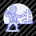 agent, assasin, cover, crime, danger, mercenary, ninja, ninjutsu, shinobi, sword, training