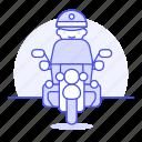 bike, biking, civil, crime, danger, enforcement, guard, law, male, motorcycle, officer, police