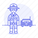 car, civil, crime, danger, enforcement, guard, law, male, officer, police, sheriff