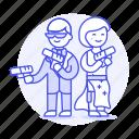 crime, criminals, danger, disguise, duo, espionage, handgun, partner, spies, spy, suit, undercover, weapon