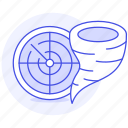 crime, cyclone, danger, disasters, natural, tornado, track, tracking, twister, whirlwind, windstorm icon
