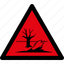 danger, dangerous, environment, warning, attention, caution, hazard icon