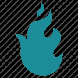 burn, danger, fire, flame, heat, hot, nero icon