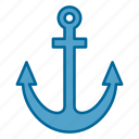 anchor, boat, nautical, ocean, sea, ship, water
