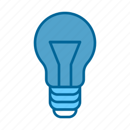 bulb, business, creativity, idea, innovation, project, solution icon