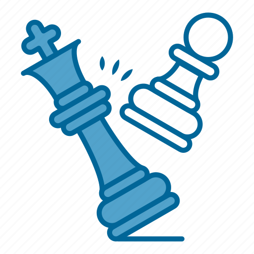 checkmate, chess, game, king, pawn, play, strategy icon