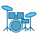 band, drums, group, music, percussion, rock, song icon