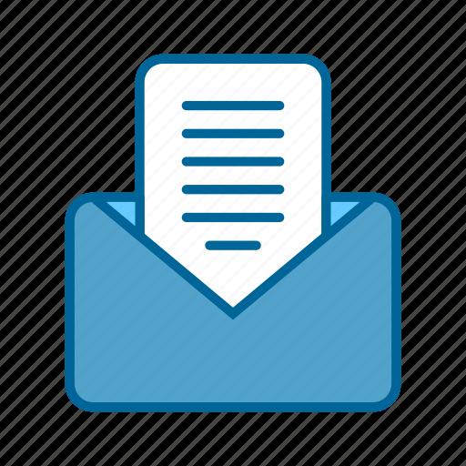 comment, conversation, email, inbox, letter, mail, message icon