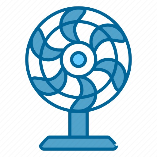 air, comfort, fan, heating, hot, ventilator, wind icon