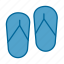 feet, flipflops, foot, footwear, havaianas, sandals, shoes icon