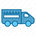 food, food truck, gastronomy, meal, restaurant, truck, vehicle icon