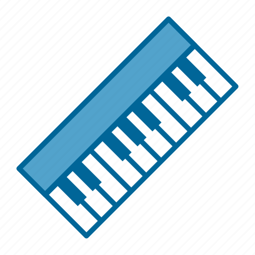 band, instrument, keyboard, keys, music, pop, song icon