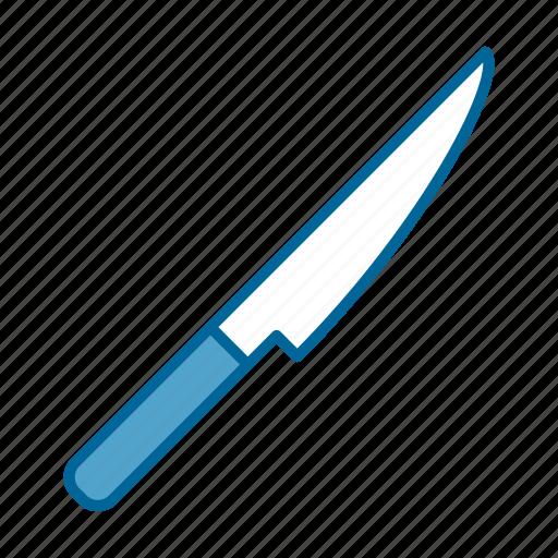 cut, cutlery, dinner, food, knife, lunch, tool icon