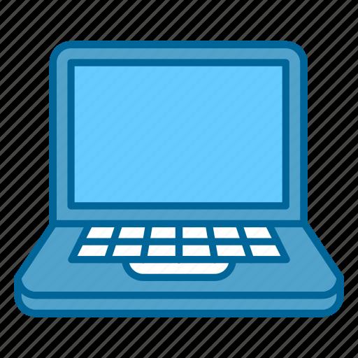 computer, laptop, macbook, monitor, screen, technology, web icon