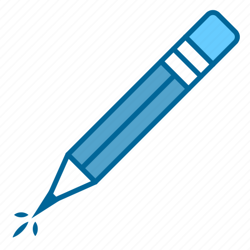 creativity, drawing, material, pencil, school, sketch, writing icon