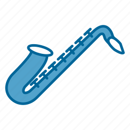 band, instrument, music, orchestra, saxophone, song, windwood icon