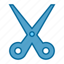 scissors, cutting, grooming, hair, hairstyle, saloon, tool
