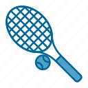 ball, competition, racket, sport, tennis, tennis ball, tennis racket