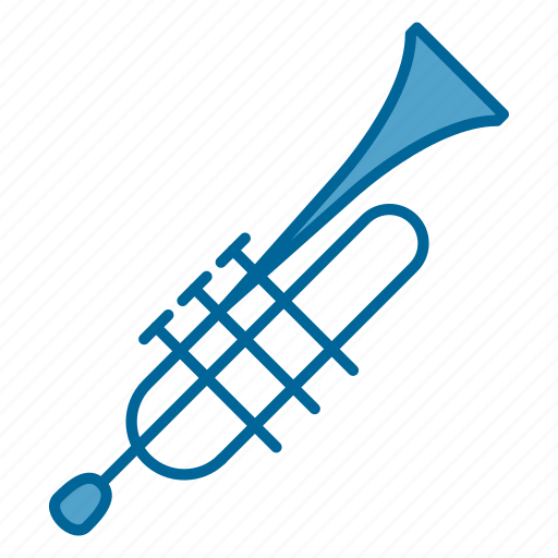 instrument, music, orchestra, song, trumpet, windwood, wood instrument icon