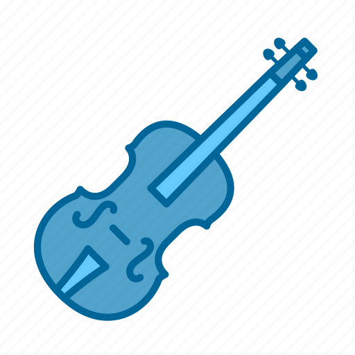 bow, instrument, music, orchestra, song, strings, violin icon