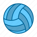 ace, ball, competition, sport, tournament, volley, volleyball icon
