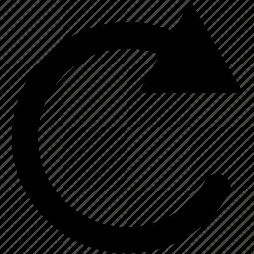 recent, refresh icon