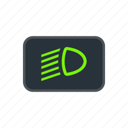 beam, dipped, electricity, headlights, lamp, light, table icon