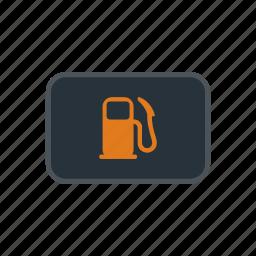 car, fuel, gas, indicator, petrol, pump, station icon