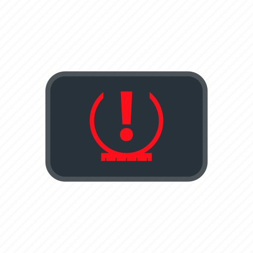 monitoring, pressure, tire, tpms icon