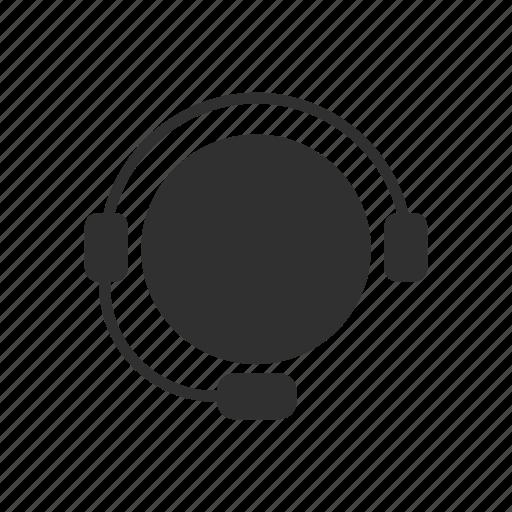 avatar, callcenter agent, earphone, headset icon