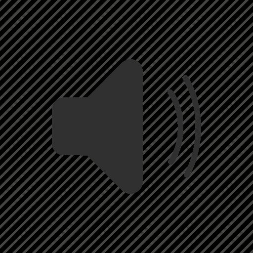 audio, loudspeaker, music, volume icon