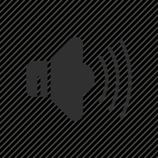 audio, loud speaker, music, volume icon