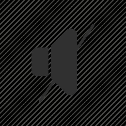 audio, music, mute, speaker icon