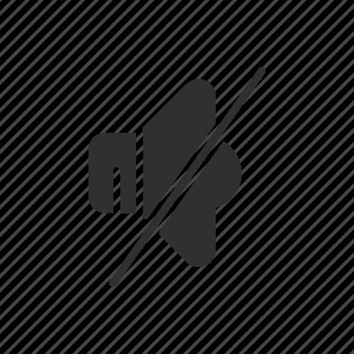 audio, music, mute, volume icon