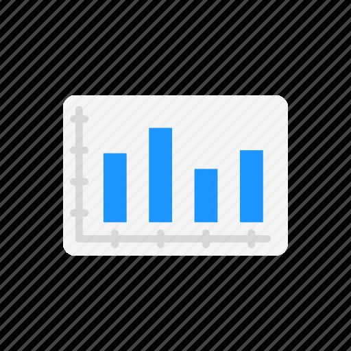 bar, bar graph, chart, graph icon