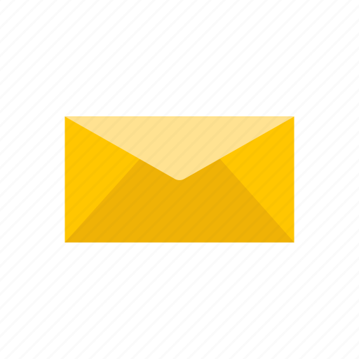 envelope, letter, message, sending mail icon