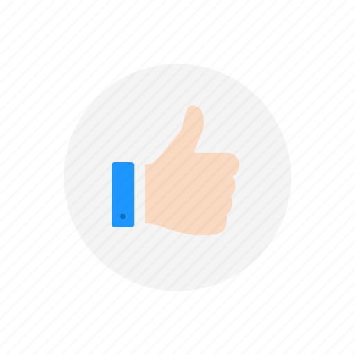 approve, favorite, like, thumbs up icon