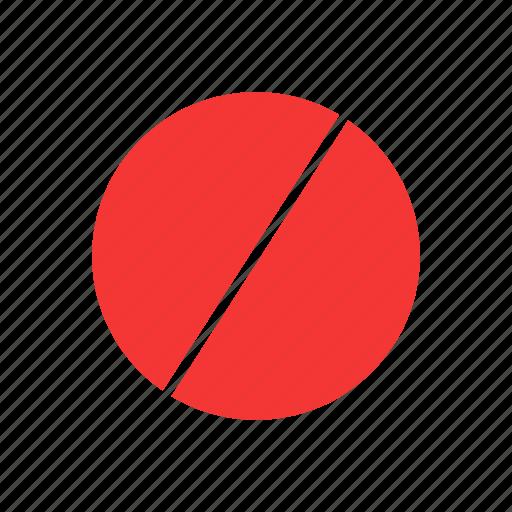 block, hide, minus, private icon