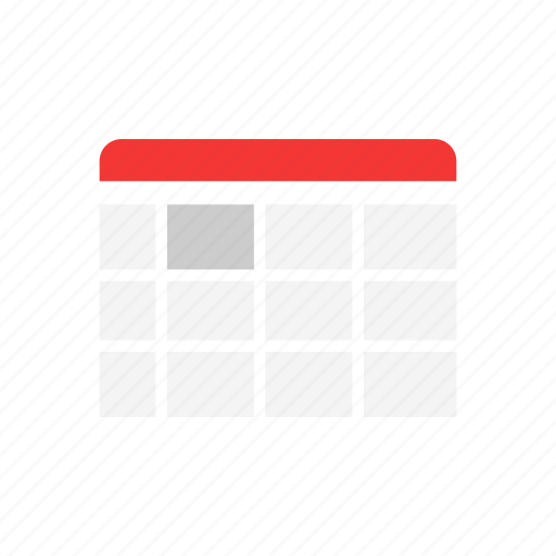 calendar, date, events, year icon