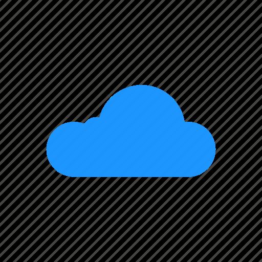 cloud, fog, mist, sky icon