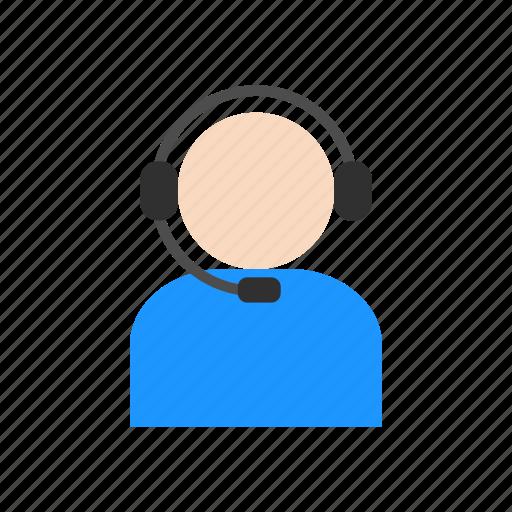 agent, call, call center, headphones icon