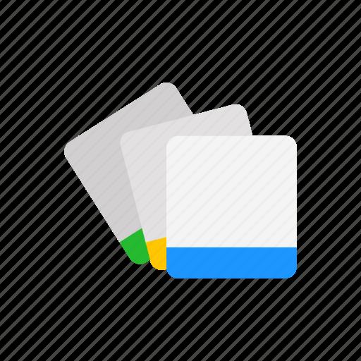 card, id, identification, key card icon
