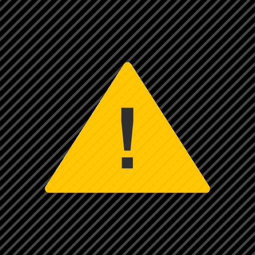 alert, be careful, caution, warning icon