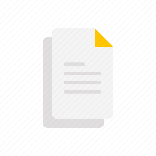 documents, paper, sheet, text icon
